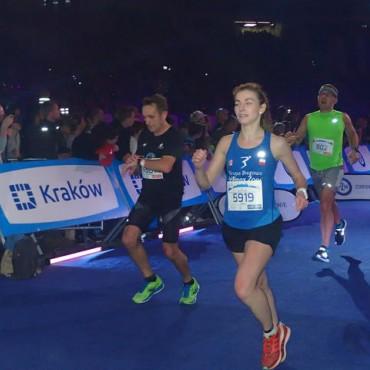 Anna Janko pobija rekord klubu w półmaratonie kobiet!